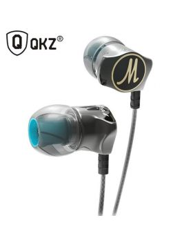 QKZ DM7 Special Edition Gold Plated Housing Earphones