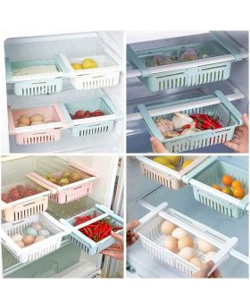 Refrigerators Drawer Shelf Plastic Organizer Basket