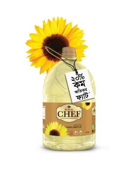 Royal Chef Sunflower Oil - 5 Litter