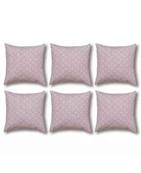 Six Pieces Cushion Cover Set - Tan
