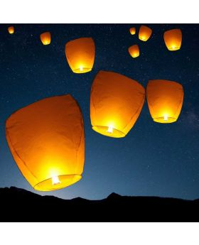 "FLY SKY LANTERN ""FANUSH""-5PCS Bundle"