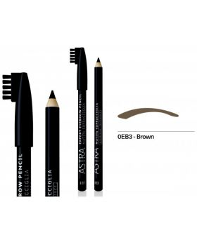 Astra - Expert Eyebrow Pencil - OEB3: Brown