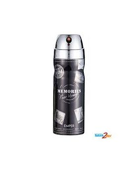EMPER - Body Spray - 200 ML - MEMORIES (M)