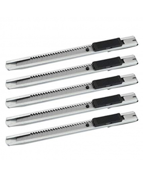 Snap-Off Blade Knife 5 - Silver