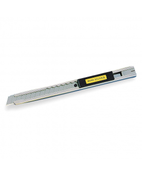 Snap-Off Blade Knife - Silver