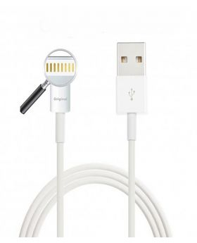Genuine MD818ZM/A Apple Lightning USB Data Cable for Apple iPhone-White