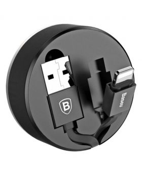 Baseus New Era Storage Type Cable - Black