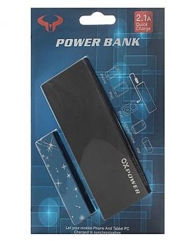 OX Power 8000 mAh Power Bank