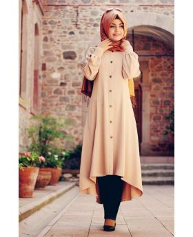 Stylish Light Brown Afghani Borkha