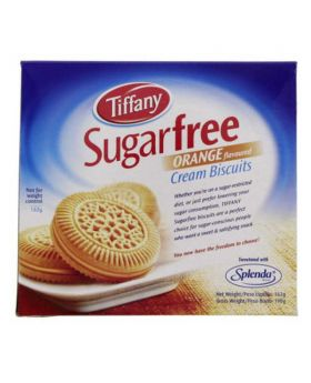 Tiffany Sugar free Orange Cream Biscuits-162 gm