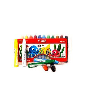 Titi oil pastels(12 piece)-Color Pencil