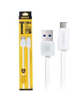 Remax Type-C USB 3.0 Data Cable for Fast Charging and Data Transfer - White