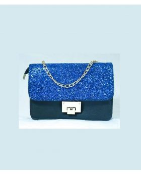 Fashionable High Quality Party Hand purse - Royal blue