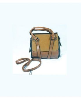 Good QualityArtificial Leather Hand bag- Brown with chocolate Colour