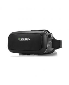 VR Shinecon 4th Gen Virtual Reality 3D Glasses With Headset For 3.5-6.0 Inches Smartphones
