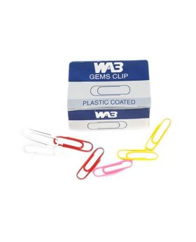 WA3 Plastic Coated Gems Clip