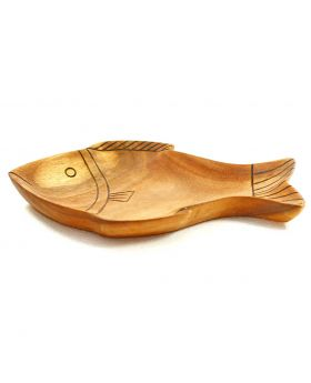 Fish Plate - Medium (Burnt Design)