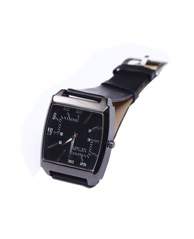 Xenlex XX02201-0071 Stainless Steel  Leather  Belt Analogue Watch For Men