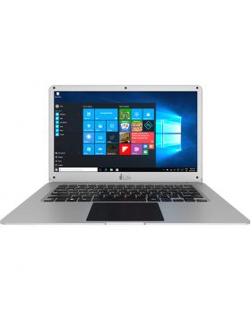 I-life ZEDAir-H Intel Atom x5-Z8350 Quad Core Processor 1.8Ghz(1.44-1.92Ghz) 2GB DDR3, 32GB eMMC, 500GB HDD 14 Inch Win-10 Home Silver Notebook